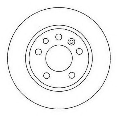 Тормозной диск  арт. 561962JC
