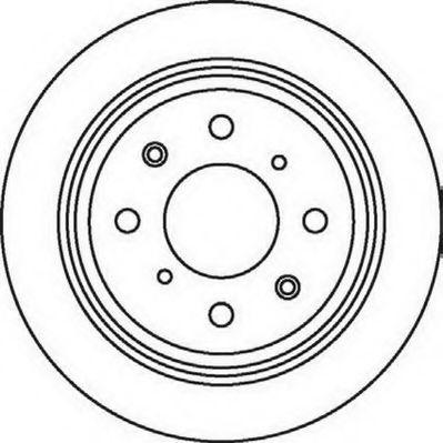 Тормозной диск  арт. 562016JC