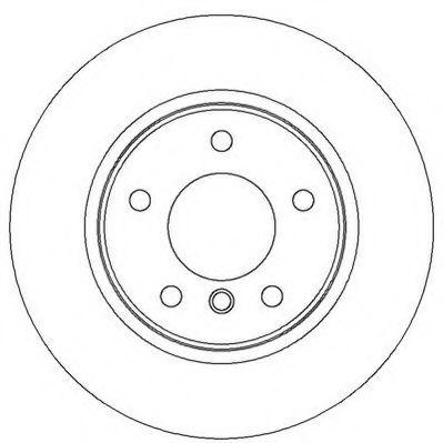Диск тормозной BMW 1 (E81), 3 (E90) задн. (пр-во Jurid)                                              JURID 562310JC