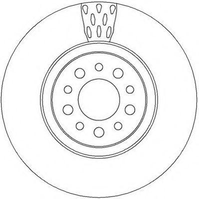 Тормозной диск  арт. 562391JC