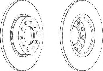 Тормозной диск  арт. 562501JC