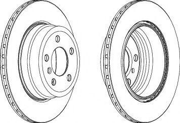 Тормозной диск  арт. 562521JC