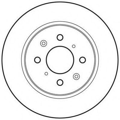 Тормозной диск  арт. 562704JC