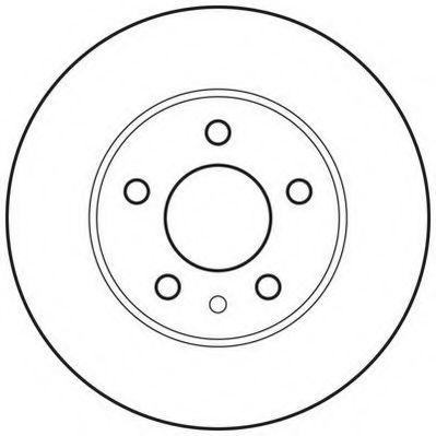 Тормозной диск  арт. 562705JC