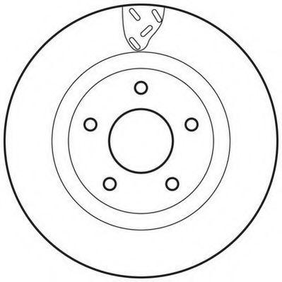 Тормозной диск  арт. 562790JC