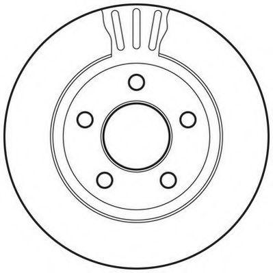 Тормозной диск  арт. 562802JC