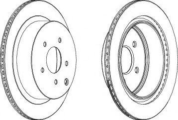 Тормозной диск  арт. 562871JC