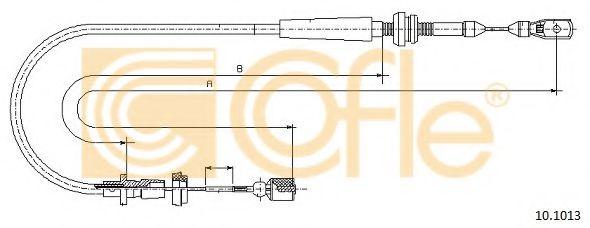 Карбюратор Трос газа COFLE арт. 101013