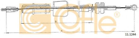 Карбюратор Трос акселератора COFLE арт. 111244