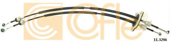 (ex.EURO 5) Трос куліси КПП (Л+П) Fiat Fiorino 1.3 JTD 07- COFLE 113296