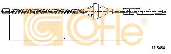 Трос стояночного тормоза  арт. 115454