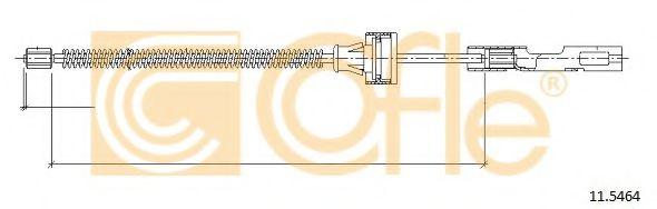 Трос, стояночная тормозная система  арт. 115464
