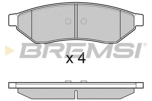 Колодки тормозные задние Chevrolet Epica 06- (akebono)  арт. BP3162
