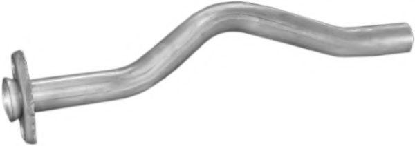 Трубы и гофры Труба промеж. OPEL KADETT (пр-во Polmostrow) POLMO арт. 17474