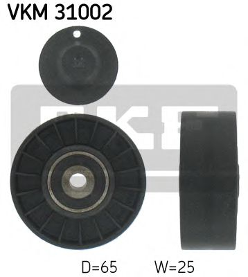 Фото - Паразитный / ведущий ролик, поликлиновой ремень SKF - VKM31002