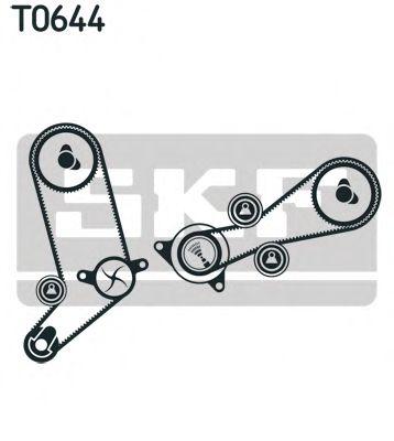 Комплект ГРМ (ремінь + ролик) SKF VKMA01270