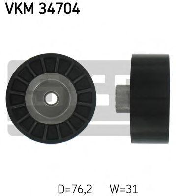 SKF FORD Ролик паразитный Transit 2,4D SKF VKM34704