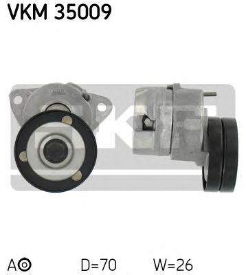 Фото - Натяжной ролик, поликлиновой ремень (Пр-во SKF) SKF - VKM35009