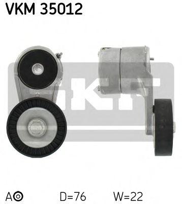 Фото - Натяжной ролик, поликлиновой ремень SKF - VKM35012