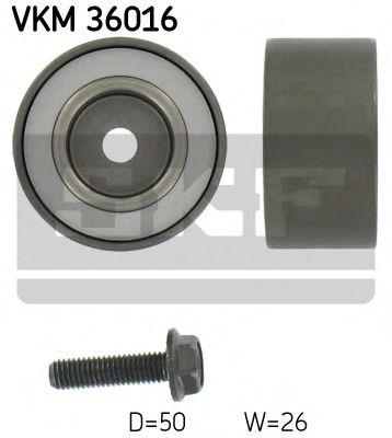 Фото - Паразитный / ведущий ролик, поликлиновой ремень SKF - VKM36016