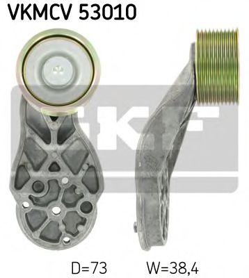 Паразитный / ведущий ролик, поликлиновой ремень SKF арт. VKMCV53010