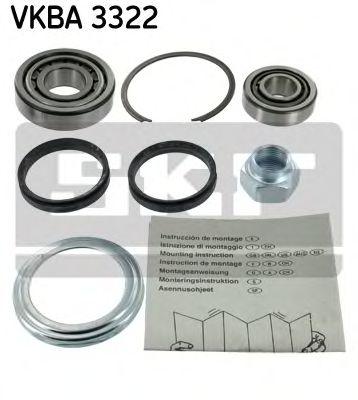 Комплект подшипника ступицы колеса  арт. VKBA3322