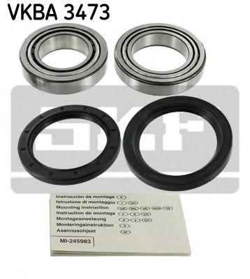 Комплект подшипника ступицы колеса  арт. VKBA3473