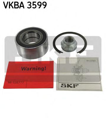 Комплект подшипника ступицы колеса  арт. VKBA3599