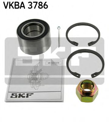 Комплект подшипника ступицы колеса SKF  арт. VKBA3786