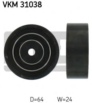 Фото - Паразитный / ведущий ролик, поликлиновой ремень SKF - VKM31038