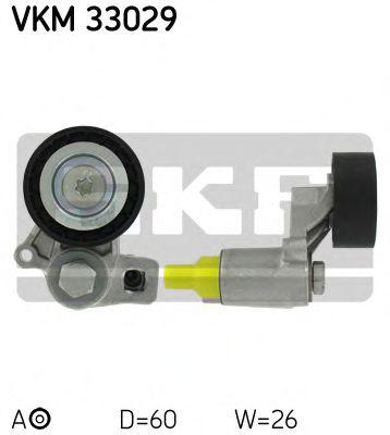 Фото - Натяжной ролик, поликлиновой ремень SKF - VKM33029