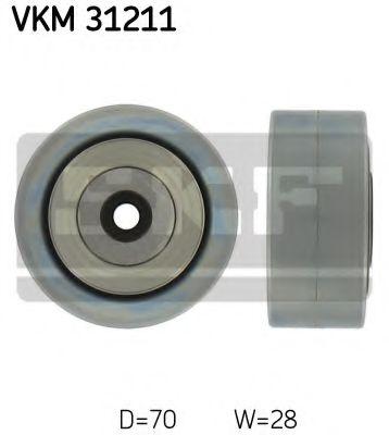 SKF AUDI Ролик паразитный  A6 2.0TDI -11. SKF VKM31211