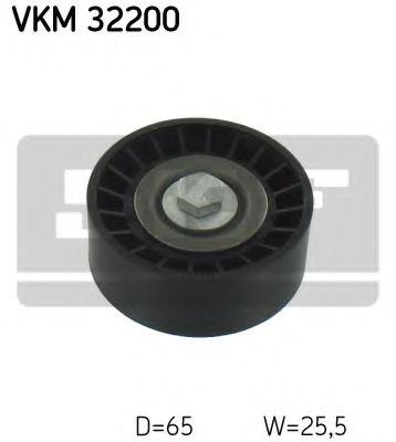 Ролик, поликлиновой ремень  (пр-во SKF)                                                              SKF арт. VKM32200