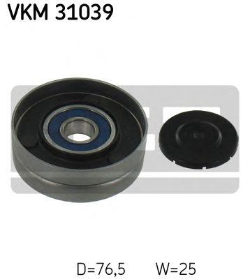 Фото - Паразитный / ведущий ролик, поликлиновой ремень SKF - VKM31039