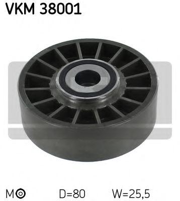Натяжной ролик, поликлиновой  ремень SKF арт. VKM38001