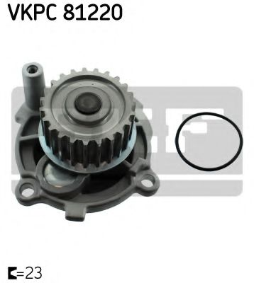 Водяна помпа SKF VKPC81220