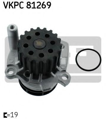 Водяна помпа SKF VKPC81269