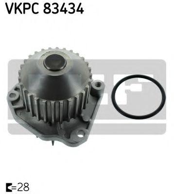 Помпа воды CITROEN C5 III 3.0 V6 (Пр-во SKF)                                                         в интернет магазине www.partlider.com