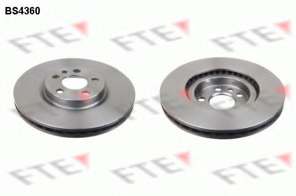 Диск тормозной (передний) Fiat Scudo 96-06 (281x26)  арт. BS4360