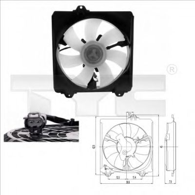 Вентилятор радіатора в интернет магазине www.partlider.com