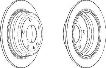 Тормозной диск  арт. DDF1201