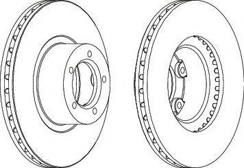 Тормозной диск Ferodo  арт. DDF1621