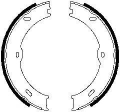 Гальмівні колодки, барабанні FERODO FSB4001