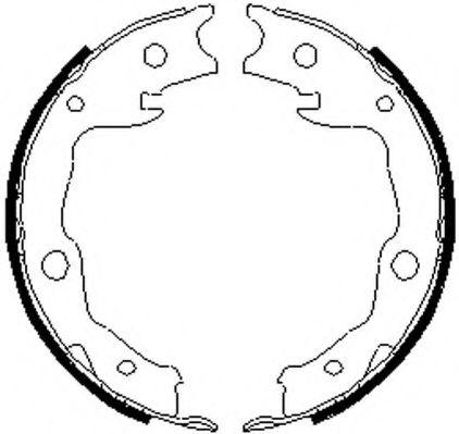 Гальмівні колодки, барабанні FERODO FSB4035