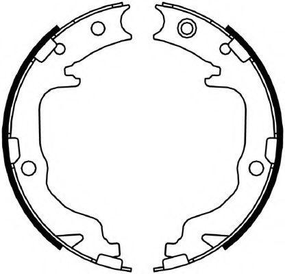 Колодки гальмівні барабанні  арт. FSB4059