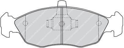 Brake pad set ROULUNDSBRAKING 642181
