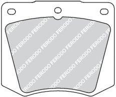 Тормозные колодки дисковые  арт. FDB1284