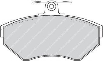 Brake pad set ROULUNDSBRAKING 647681