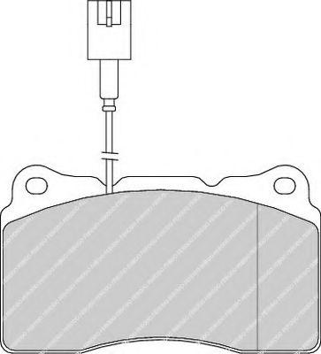 Колодки гальмівні дискові  арт. FDB1334