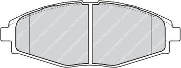 Гальмівні колодки, дискові  арт. FDB1337